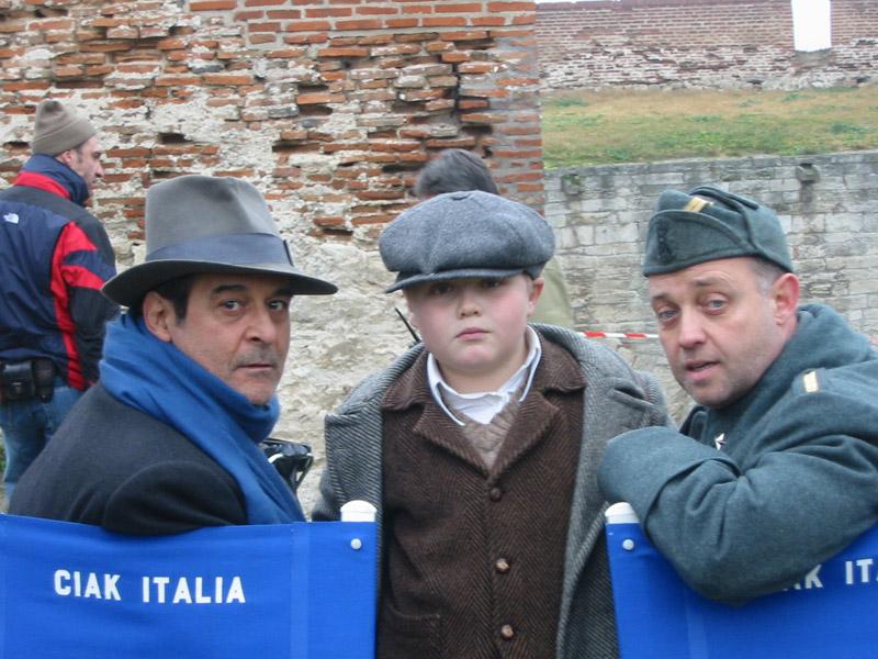 Ghislandi con  Ennio Fantastichini