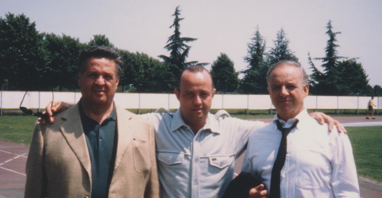 Ghislandi con Cochi e Renato
