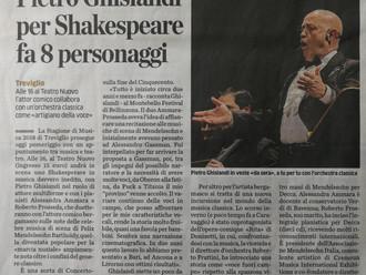 Pietro Ghislandi per Shakespeare