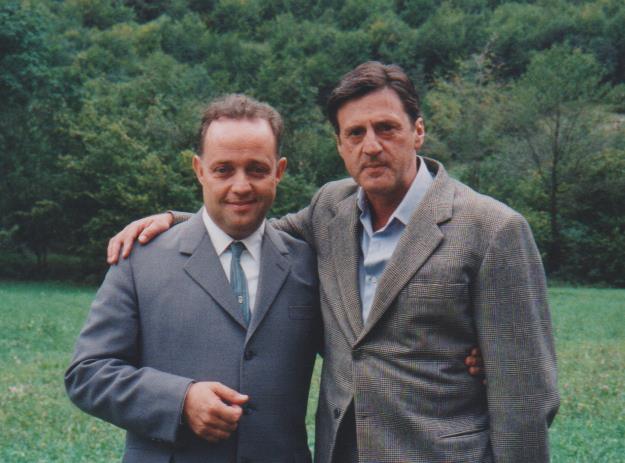Con DANIEL AUTEUIL