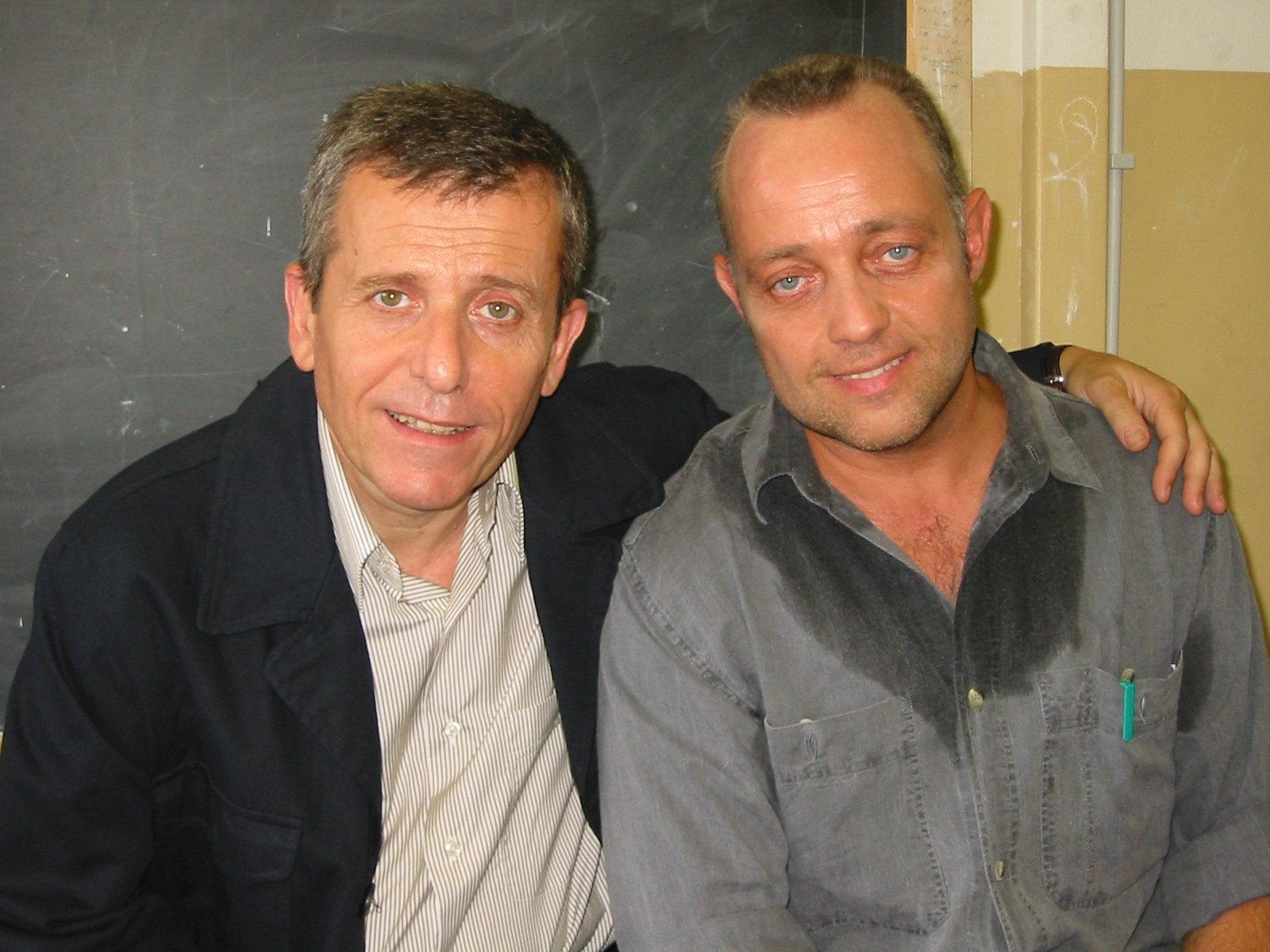Ghislandi con Maurizio Micheli