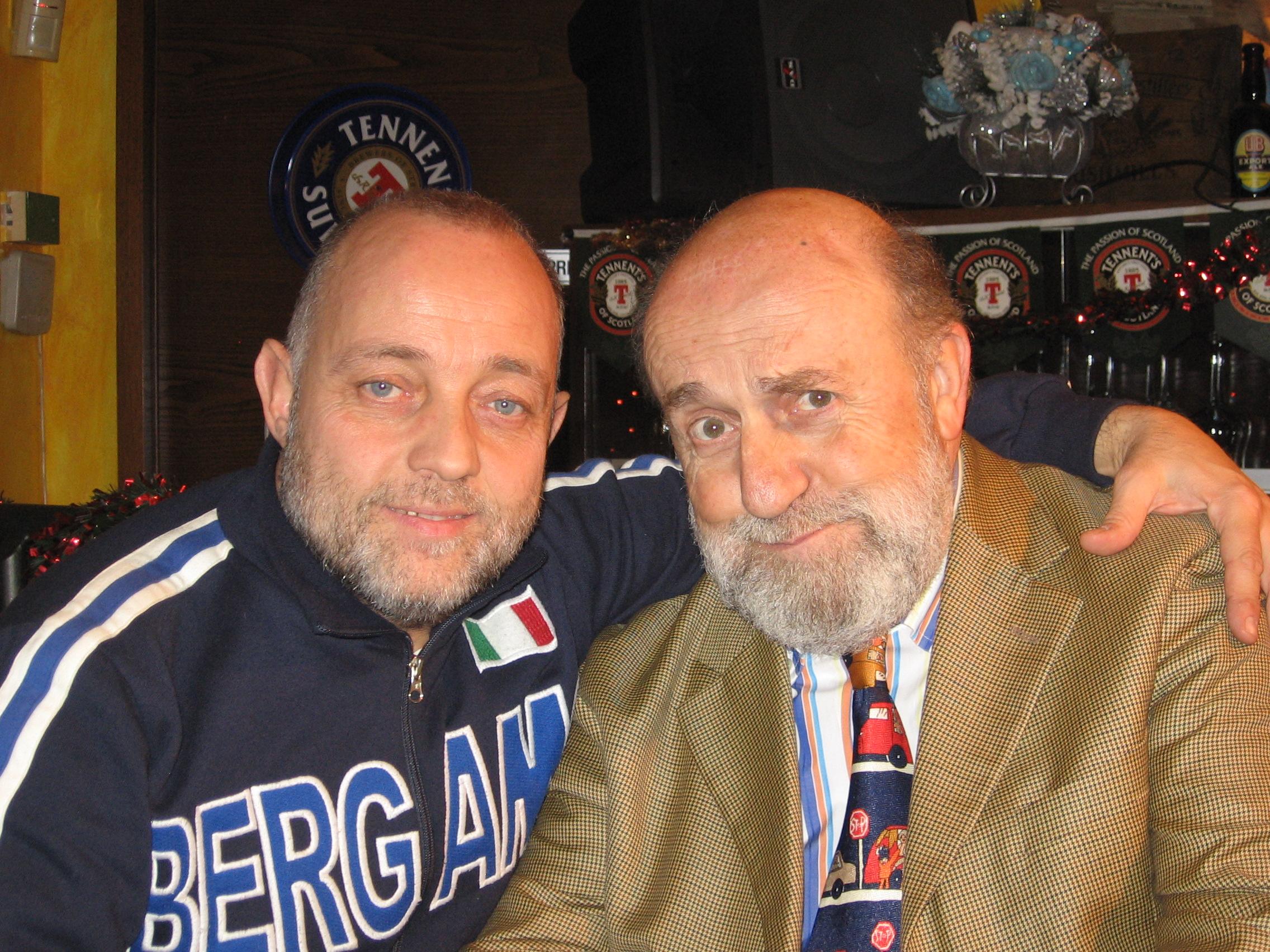 Ghislandi con Enrico Beruschi