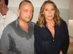 Ghislandi con Barbara De Rossi