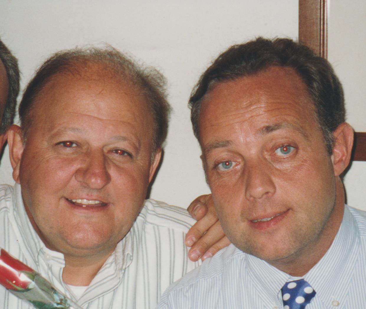 Ghislandi con Massimo Boldi