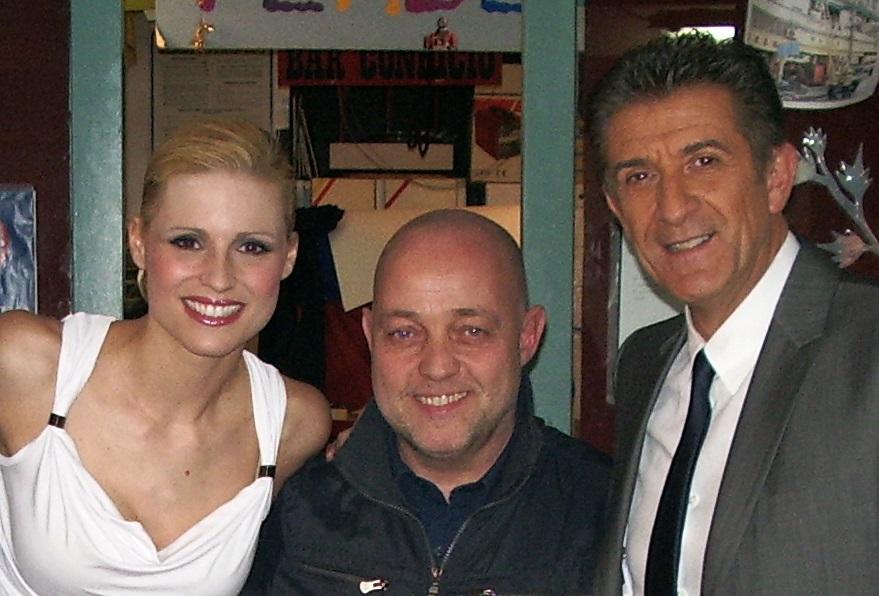 Ghislandi con Greggio e Hunziker