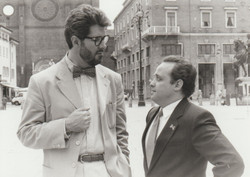 Ghislandi con Alessandro Benvenuti