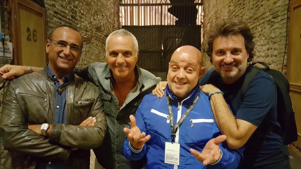 Ghislandi con il trio toscano