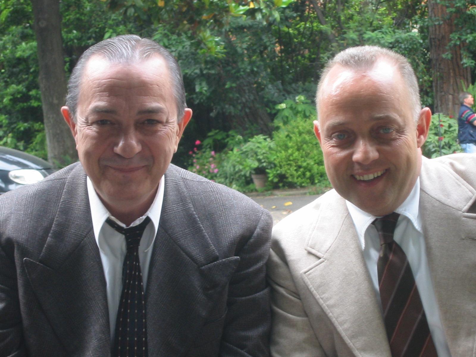 Ghislandi con Remo Girone