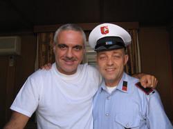 Ghislandi con Giorgio Panariello