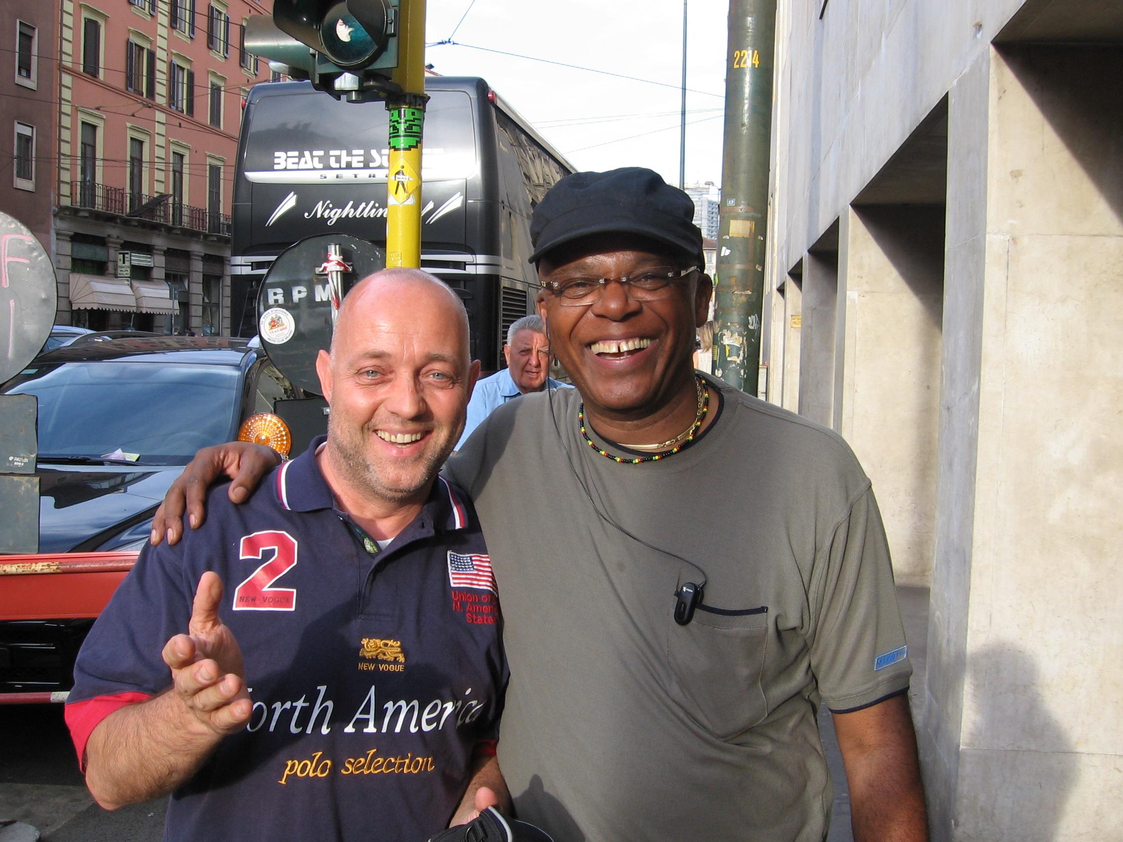 Ghislandi con Ronnie Jones