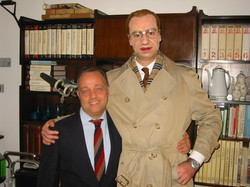 Ghislandi con Max Tortora 1