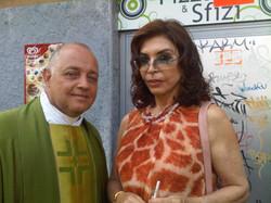 Ghislandi con Ida Di Benedetto