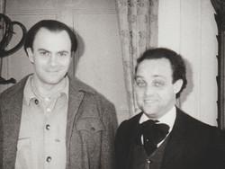 Ghislandi con Maurizio Crozza
