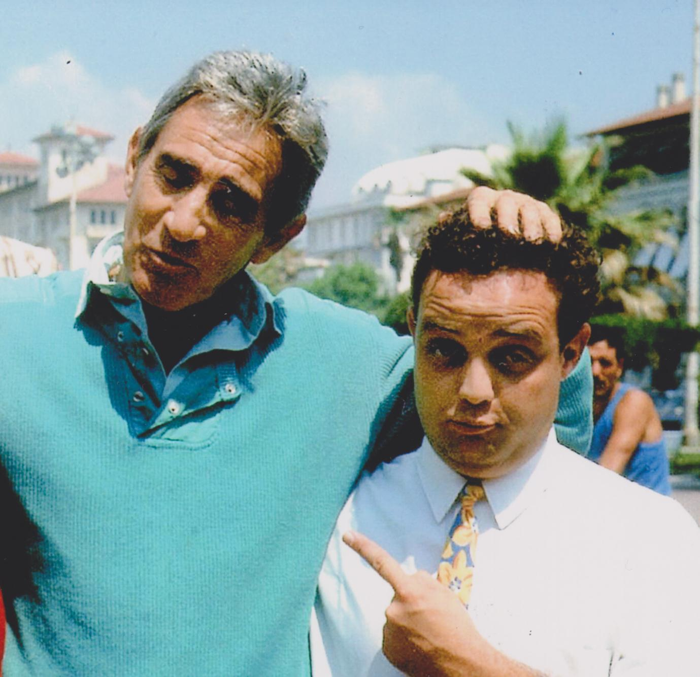 Ghislandi con Walter Chiari