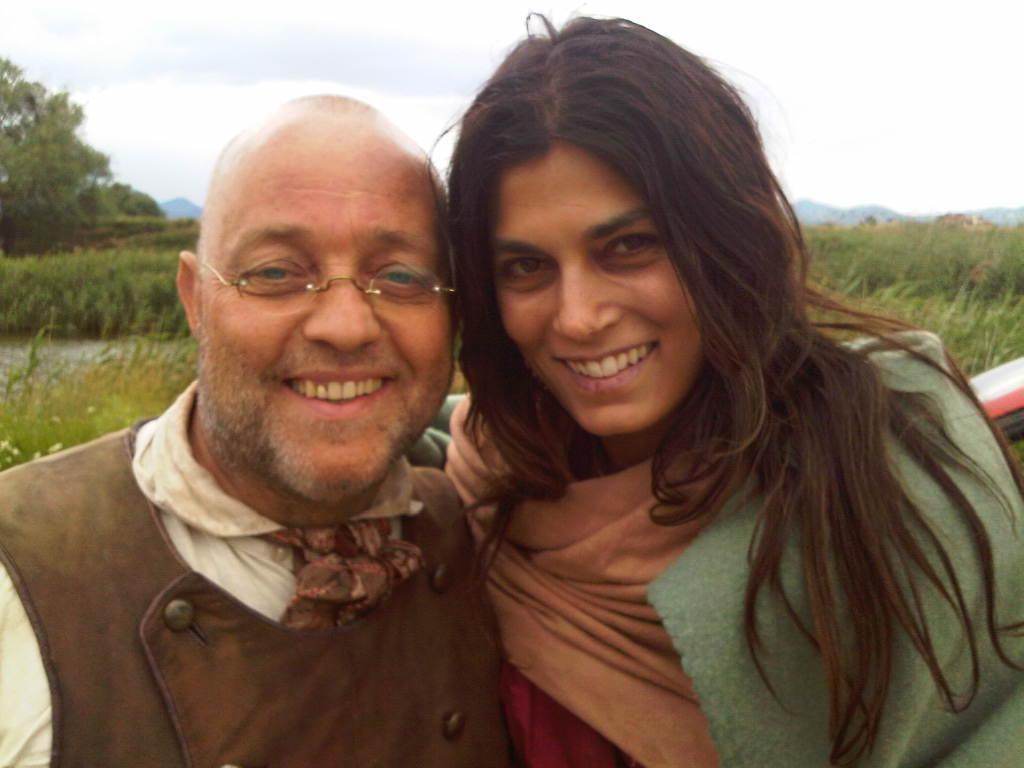 Ghislandi con Valeria Solarino
