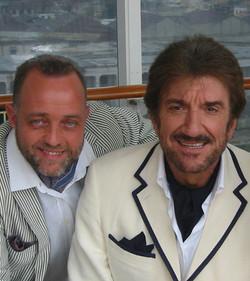Ghislandi  con Gigi Proietti