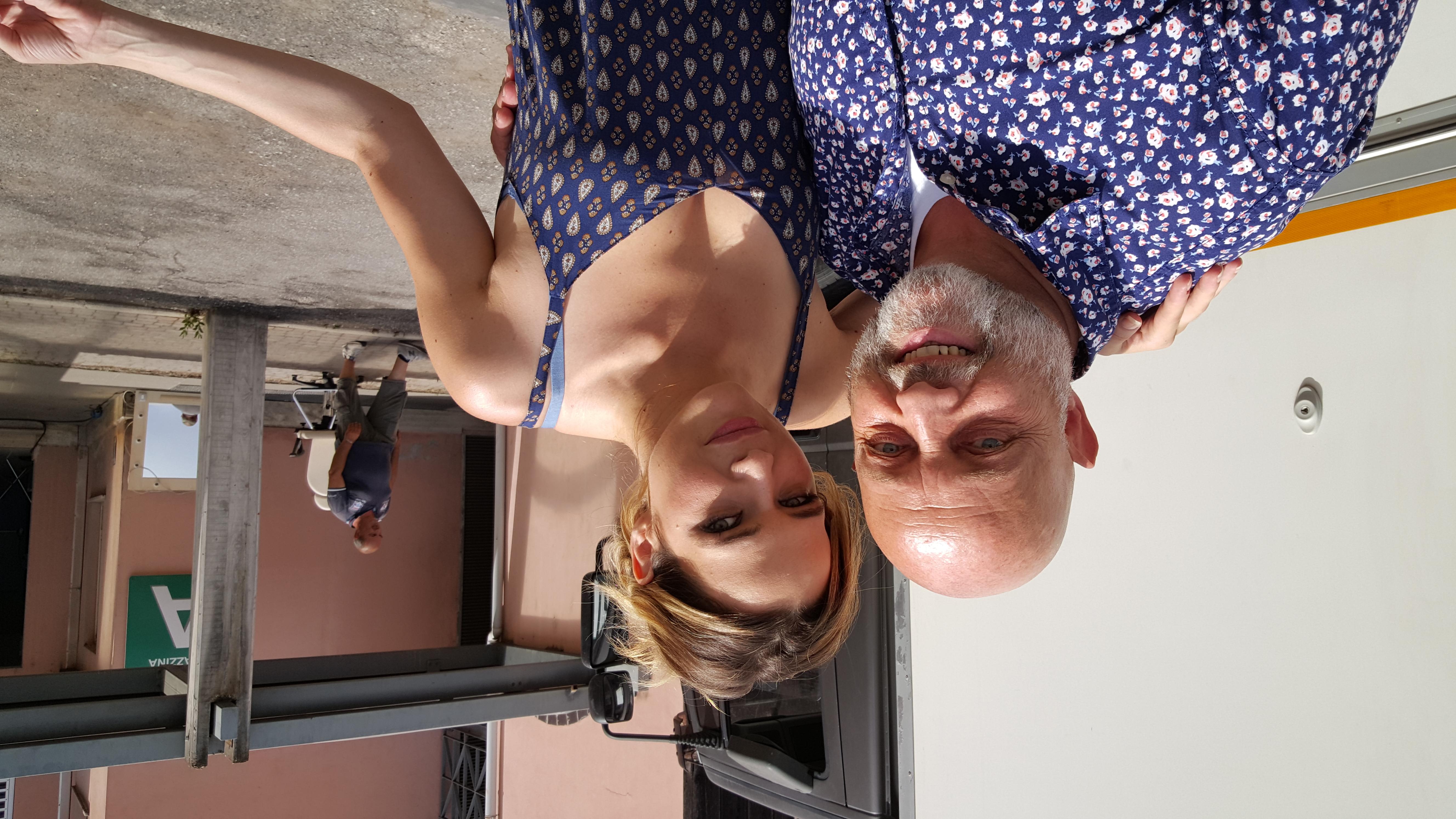 Ghislandi con Laura Chiatti