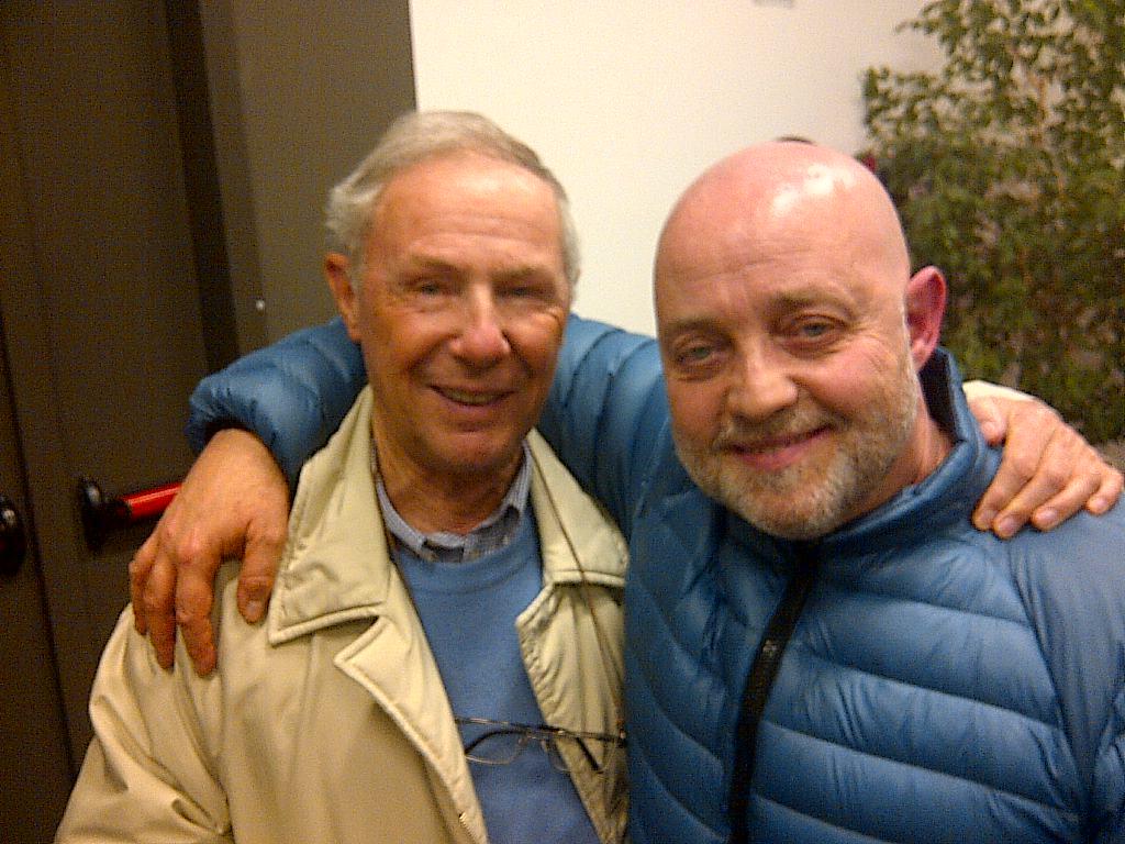 Ghislandi con Bruno Bozzetto