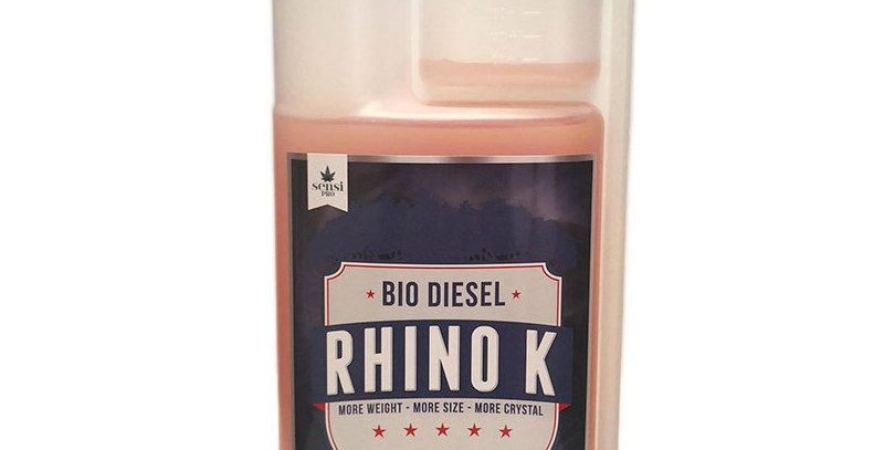 BIO DIESEL RHINO K 250ML 1L 5L FLOWERING BLOOM HARDENER BOOSTER HYDROPONIC