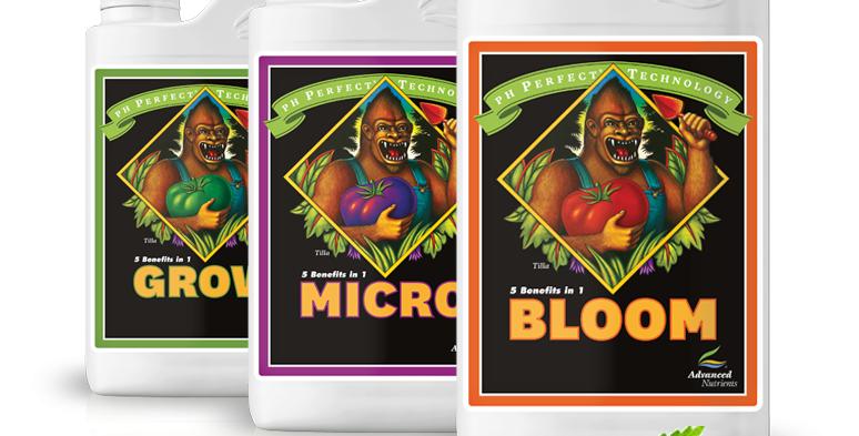 ADVANCED NUTRIENTS pH PERFECT GROW MICRO BLOOM 500ML /1L/4L HYDROPONIC NUTRIENTS