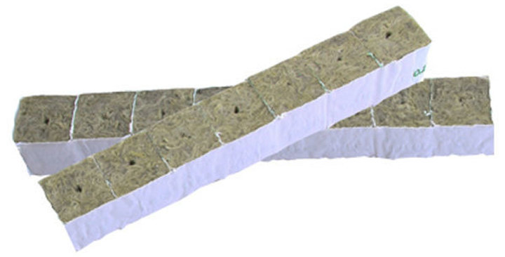 PREMIUM GRODAN WRAPPED ROCKWOOL CUBE 40MM x 40MM ROCK WOOL 40x40