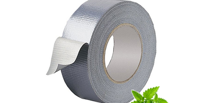 ALUMINIUM SILVER DUCTING REINFORCED TAPE 48MM X 25M STRONG INSULATION FOIL DUCT
