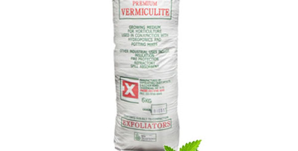 VERMICULITE 100 LITRE BAG GRADE 3 HYDROPONIC GROWING MEDIUM FIRE PROTECTION 100L