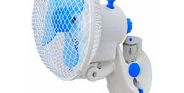 CLIP FAN 180MM WITH GROW TENT CLAMP HYDROPONICS POWER SAVING STUDENT FAN