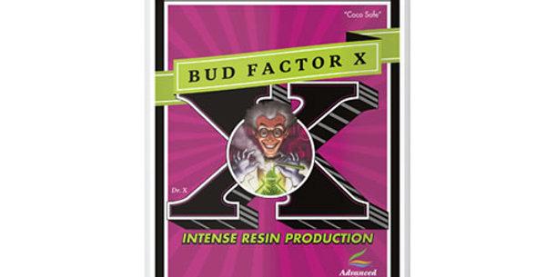 ADVANCED NUTRIENTS BUD FACTOR X 250ML/500ML/1L FOLIAGE SPRAY & ROOT DRENCH