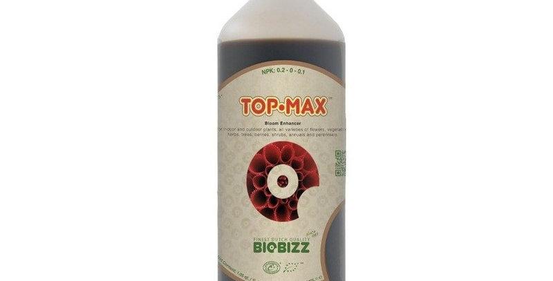 BIOBIZZ ORGANIC TOP MAX BLOOM NUTRIENTS 250ML/500ML/1L BIO BIZZ TOPMAX