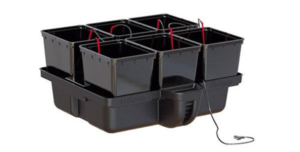 PLATINIUM HYDRO STAR 60 6 POT DRIP HYDROPONIC SYSTEM + WATERPUMP KIT GROWING PLA