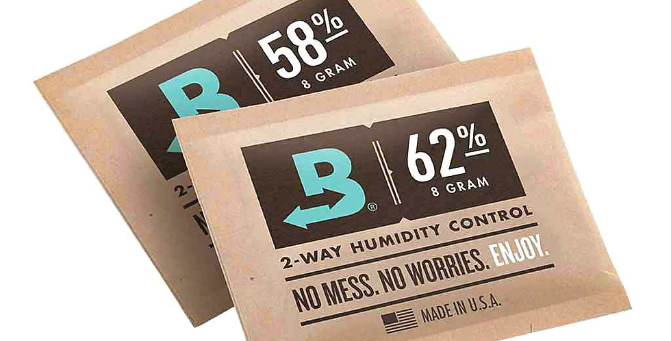 BOVEDA HUMIDITY CONTROL 4/8/64/320 GRAM HUMIDIPAK CURE STORE FLOWERS HERBS