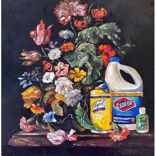 'Dry Run' - Original Oil by Dave Pollot