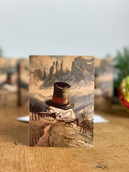 Holiday Cards, Pack of 5 - 'Winter's Coming'