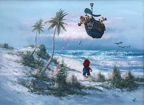 'Obstructed Holiday' - Print by Dave Pollot