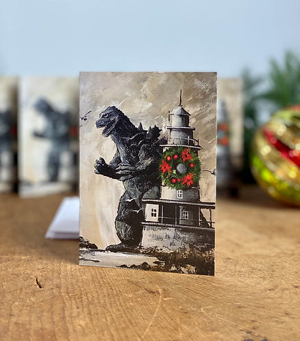 Holiday Cards, Pack of 5 - Mutually Assured Destruction