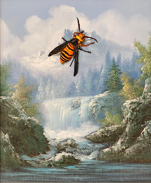 'BuzzKill' - Print by Dave Pollot