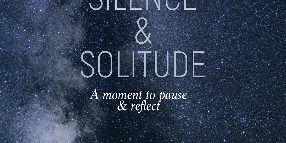 F&F NYC - Silence & Solitude - A Moment to Pause & Reflect