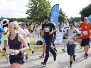 John Colquhoun runs 5k in Regents Park
