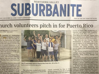 F&F Youth Update - Puerto Rico, Jersey Cares and Hoboken Shelter Food Collection - by Tim Cheux