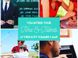 Free & Fit Summer Camp - Harrington Park, Norwood & Old Tappan - New Jersey