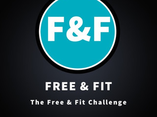 Free & Fit Challenge 2018  - January - Boldness