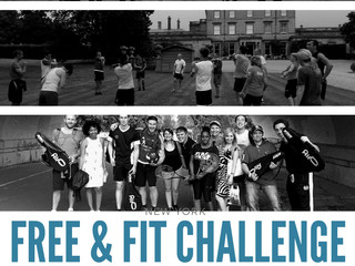 Free and Fit Challenge 2017 - Freedom from Worry by Tim Chew