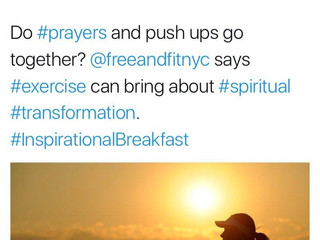 Free & Fit NYC & London on Christian Premier Radio Station in UK