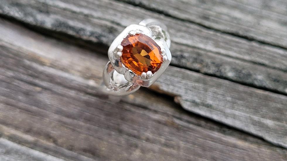 Spessartite Mandarin Garnet January Birthstone