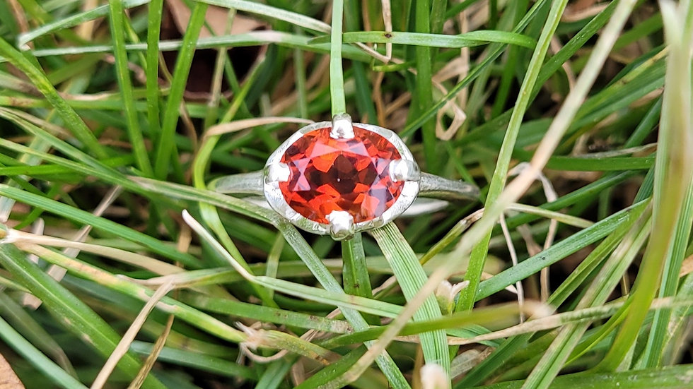 Spessartite Mandarin Garnet January Birthstone
