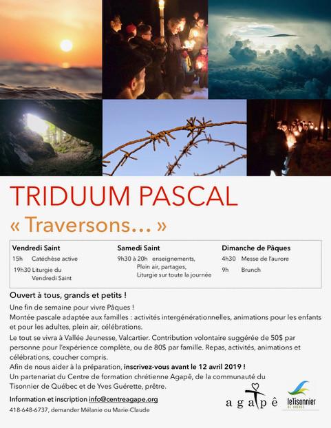 Triduum pascal - « Traversons... »