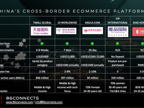 Who are the players in China's cross-border eCommerce?