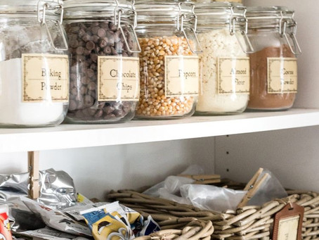 Step By Step - How to Organize Your Pantry