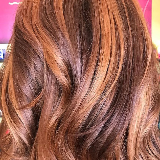 Never get tired of a beautiful #balayage